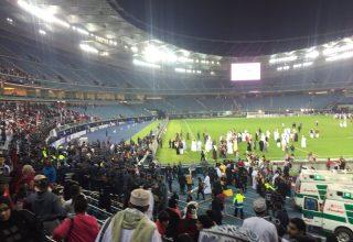الكويت: إصابة عشرات المشجعين في استاد جابر الدولي