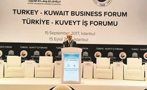 الكويت تأمل أن يؤدي المنتدى الاقتصادي لبناء شراكة تنموية مع تركيا