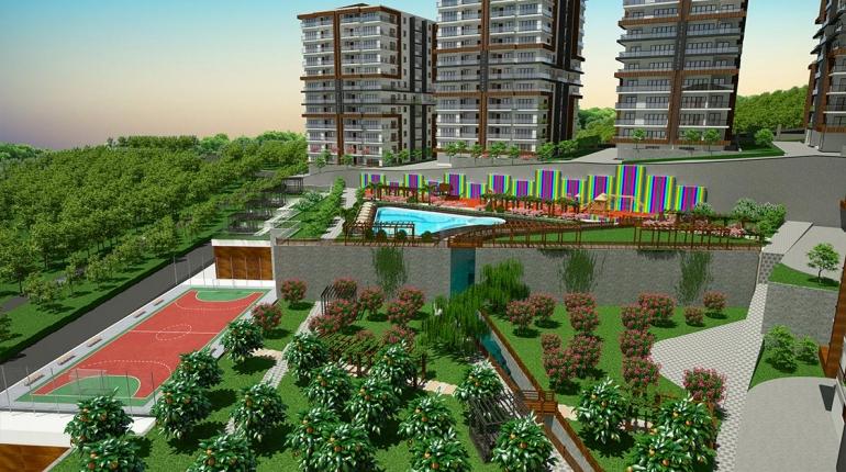 شقة للبيع بمدينة طرابزون
