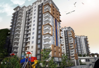 شقة فرصة للبيع في طرابزون – فرصة ارخص شقة في طرابزون – ابراج اك يازي
