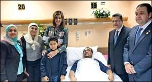 الصبيح: الكويت تتكفل بالعيش الكريم للمواطن المصري حتى يتعافى